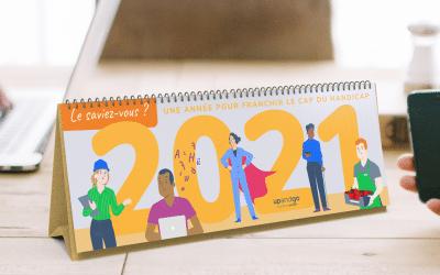 Un nouveau calendrier handicap pour bien commencer 2021 !